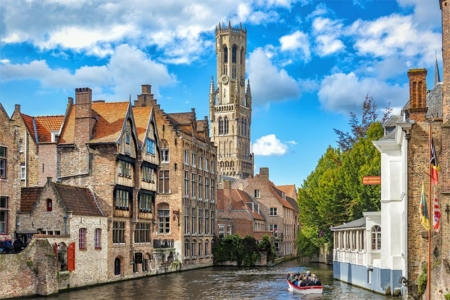 Canals, and 13th century Belfry tower