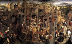 'Scenes from the Passion of Christ', Hans Memling, c.1470