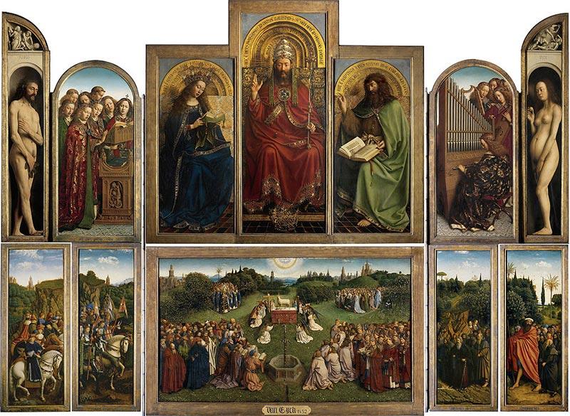 Ghent Altarpiece, Jan van Eyck, 1432