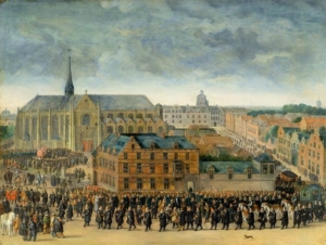 Ceremony of the Grand Oath, Great Sablon Square, Brussels, 1615