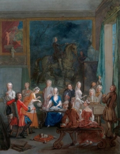 A Musical Tea Party - Mid 18th century