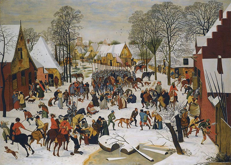 Massacre of the Innocents, Pieter Brueghel the Younger, c.1610