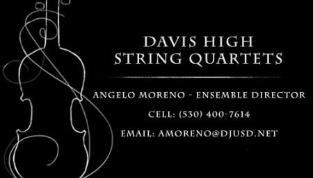 Rent a Quartet business card
