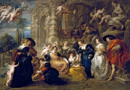 The Garden of Love, Rubens, 1633