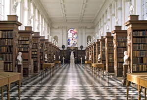 Christopher Wren Library, 1695