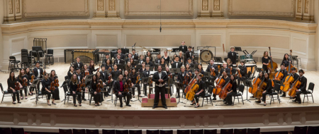 DHS Symphony Orchestra at Carnegie Hall